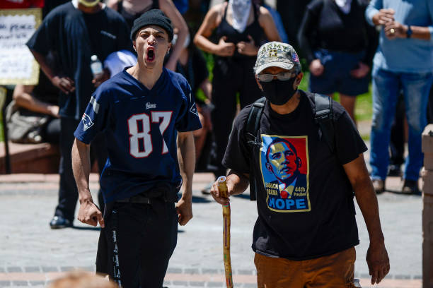 CO: Protests Continue At Capitol In Denver In Aftermath To Death Of George Floyd