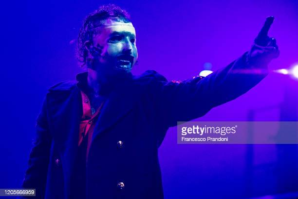 Corey Taylor of Slipknot performs on February 11 2020 in Milan Italy