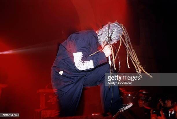 Corey Taylor of Slipknot performs on stage at Brixton Academy London United Kingdom 5th March 2000