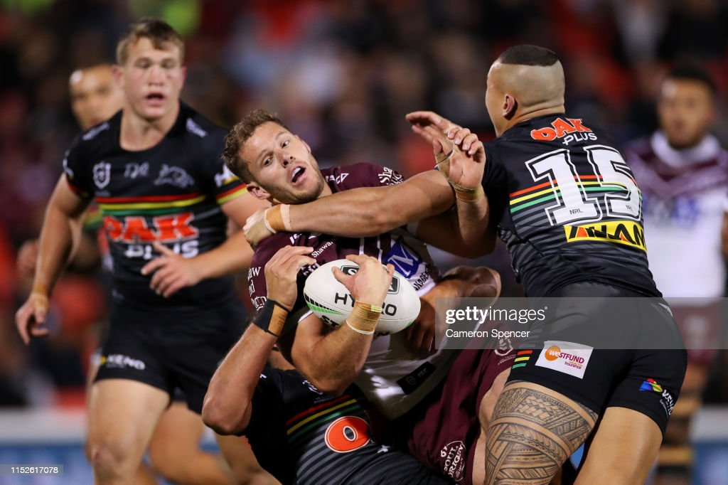 NRL Rd 12 - Panthers v Sea Eagles : News Photo