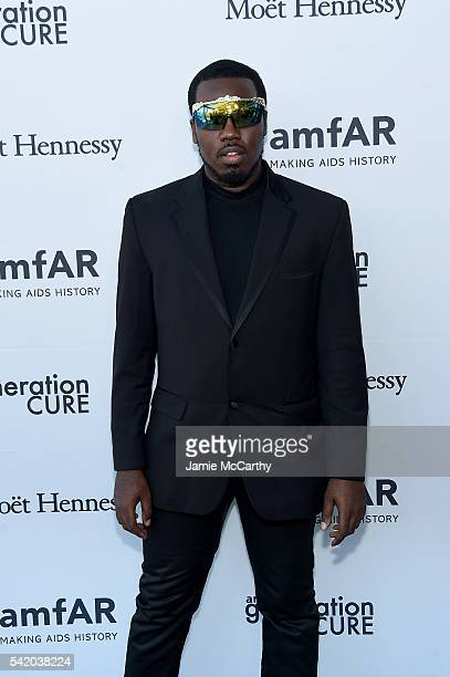 Corey Woods attends the amfAR generationCure Solstice 2016 on June 21 2016 in New York City