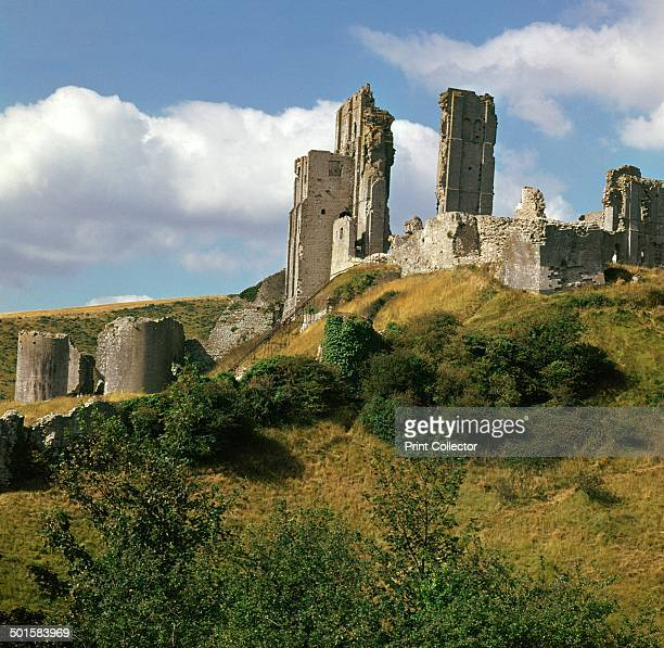 Corfe Castle built by William I King Edward II was imprisoned here in 1326