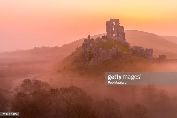 Corfe Castle Morning
