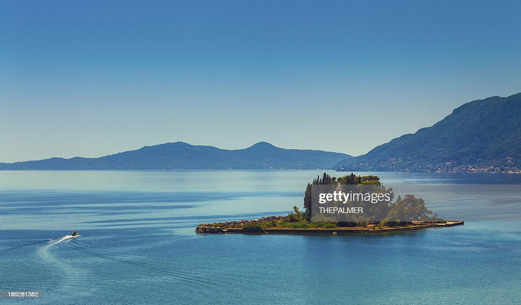 Corfu Island scenics : Stock Photo