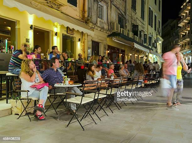 Corfu Town at NIght