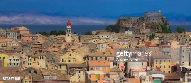 Corfu Town panorama