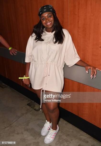 Cori Broadus attends Night two of the BET Experience Concert Series at LA Live on June 23 2017 in Los Angeles California