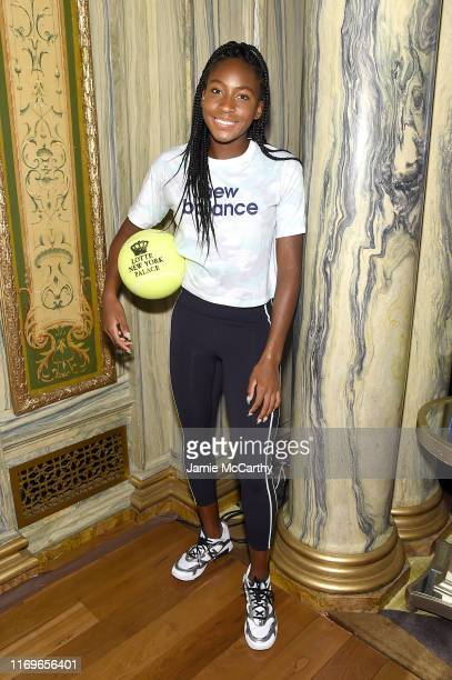 Cori Coco Gauff attends the 2019 Palace Invitational at Lotte New York Palace on August 22 2019 in New York City