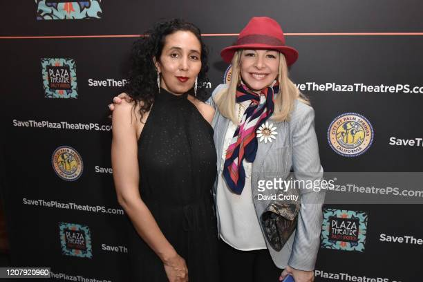 Cori Coppola and Alison Martino attend the House Of Cardin Special Screening At Palm Springs Modernism Week at The Plaza Theater on February 21 2020...