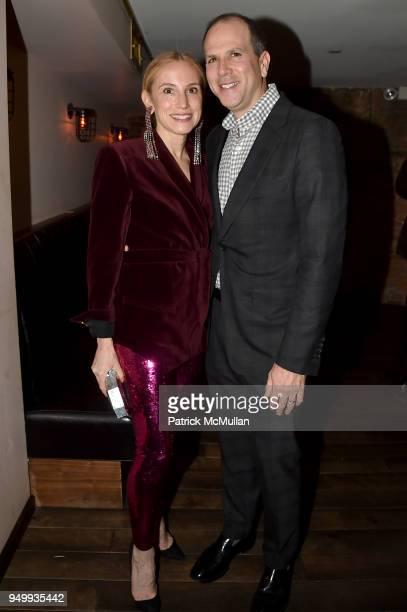 Cori Galpern and Dan Galpern attend Billy Macklowe's 50th Birthday Spectacular at Chinese Tuxedo on April 21 2018 in New York City
