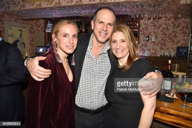 Cori Galpern Dan Galpern and Lee Spies attend Billy Macklowe's 50th Birthday Spectacular at Chinese Tuxedo on April 21 2018 in New York City