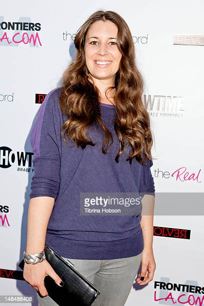 Cori McGinnBoccumini attends the season 3 premiere of Showtime's 'The Real L Word' held at Revolver on July 17 2012 in West Hollywood California