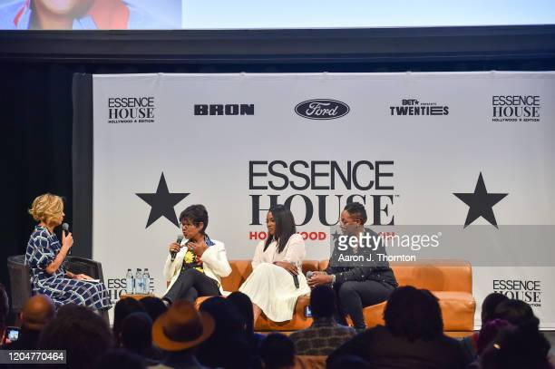 Cori Murray Director of Entertainment for Essence Director/Producer Euzhan Palcy Director/Producer Genevieve Nnaji and Comedian/Producer Gina Yashere...