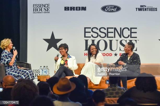 Cori Murray Director of Entertainment for Essence Director/Producer Euzhan Palcy Director/Producer Genevieve Nnaji and Comedian/Producer Gina Yashere...