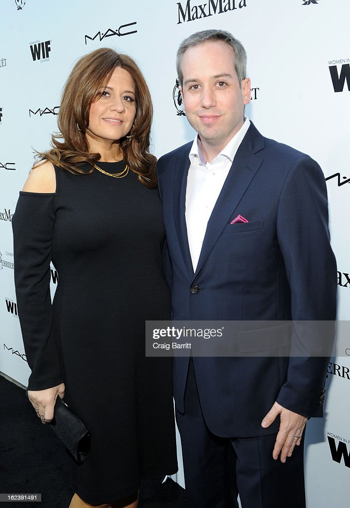 Cori Shepherd Stern and Kief Davidson attend the 6th Annual Women In Film Pre-Oscar Party hosted by Perrier Jouet, MAC Cosmetics and MaxMara at Fig & Olive on February 22, 2013 in Los Angeles, California.