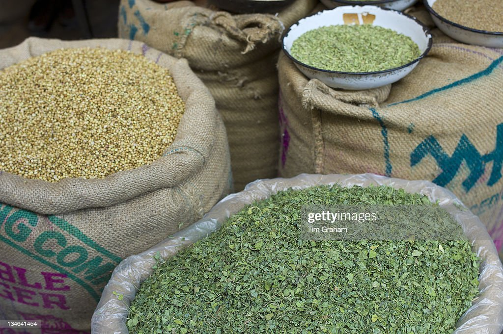 Coriander Seeds and Fenugreek, India : News Photo