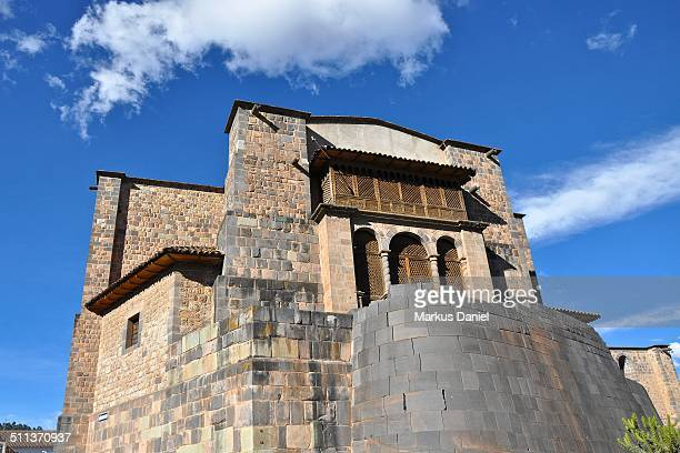 "coricancha church of santo domingo and sun temple - ""markus daniel"" stock pictures, royalty-free photos & images"