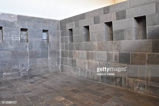 "coricancha inca walls in cusco, peru - ""markus daniel"" stock pictures, royalty-free photos & images"