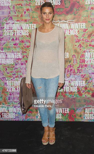 Corina Randazzo attends MAC new trends party photocall at the Association of Architects on June 11 2015 in Madrid Spain