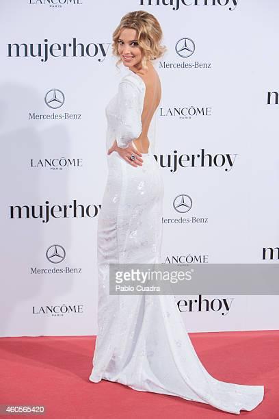 Corina Randazzo attends 'Mujer Hoy' awards gala at Palace Hotel on December 16 2014 in Madrid Spain