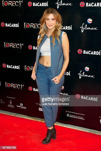 Corina Randazzo attends 'REC 4' premiere at Capitol Cinema on October 27 2014 in Madrid Spain