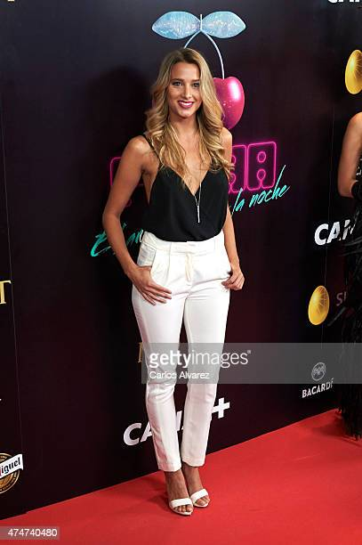 Corina Randazzo attends the 'Pacha' documentary premiere at the Capitol cinema on May 25 2015 in Madrid Spain