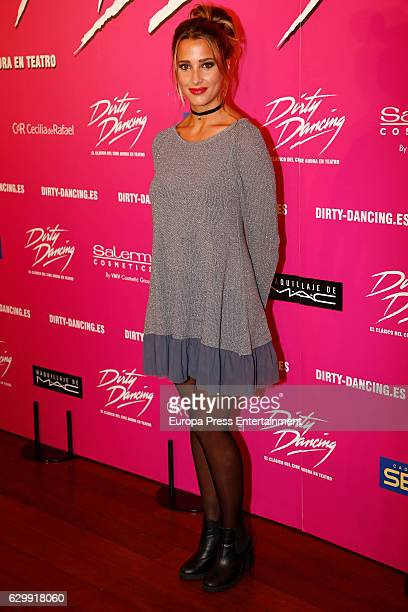 Corina Randazzo attends the premiere of the musical 'Dirty Dancing' on December 14 2016 in Madrid Spain
