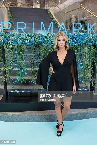 Corina Randazzo attends the 'Primark Gran Via' store opening on October 14 2015 in Madrid Spain