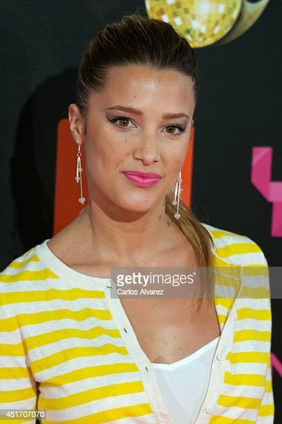 Corina Randazzo attends the Shangay Pride concert at the Vicente Calderon stadium on July 4 2014 in Madrid Spain
