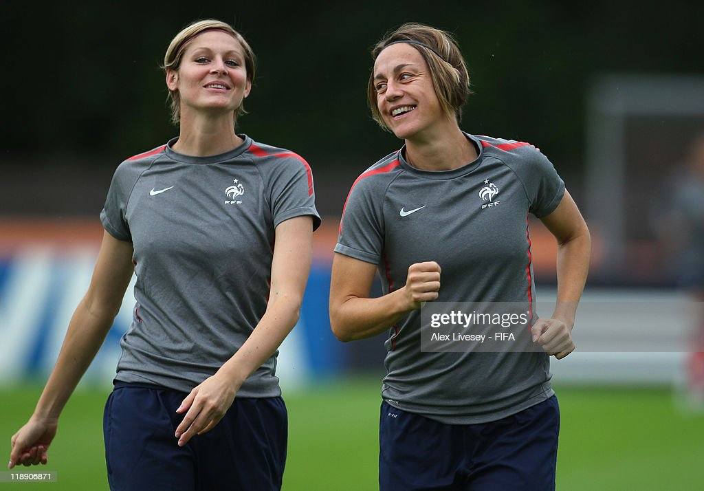 France Press Conference & Training - FIFA Women's World Cup 2011