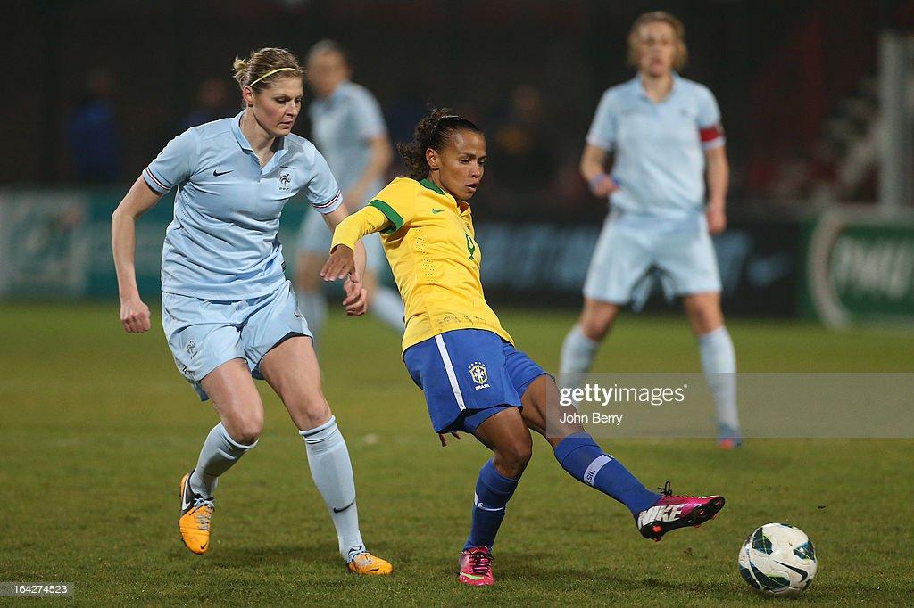 France v Brazil - Women International Friendly