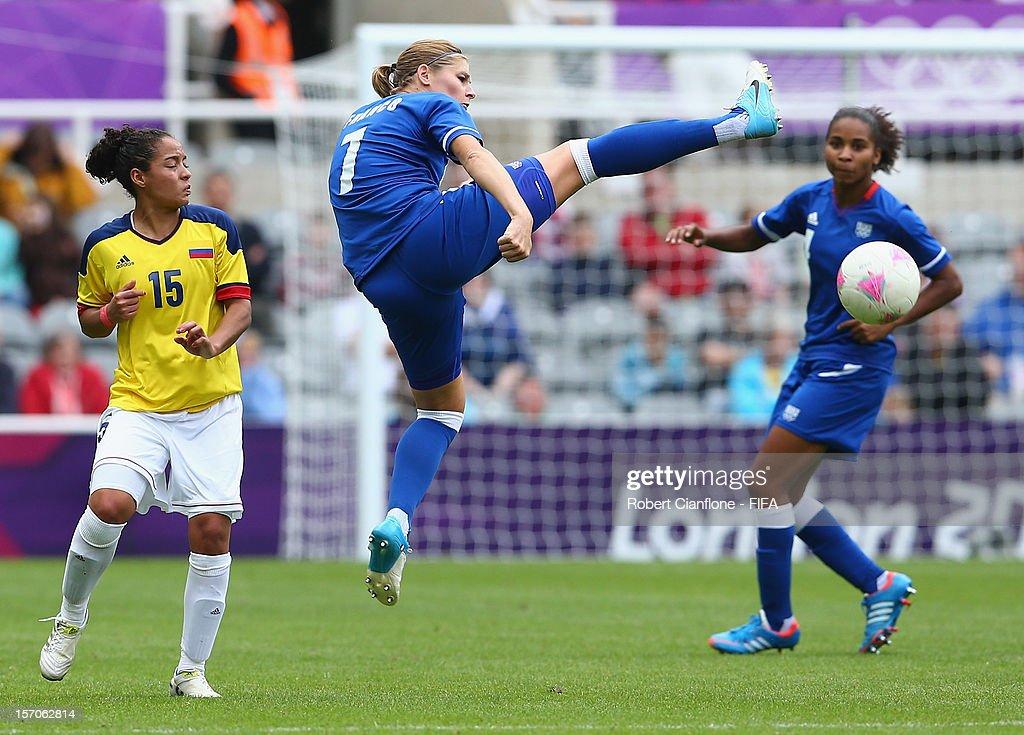 Olympics Day 4 - Women's Football - France v Colombia