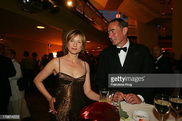 Corinna Harfouch and Bernd Eichinger After Party at 55th Ceremony Of The German Film Award in the Berlin Philharmonic Hall on 080705