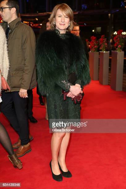 Corinna Harfouch attend the 'Django' premiere during the 67th Berlinale International Film Festival Berlin at Berlinale Palace on February 9 2017 in...