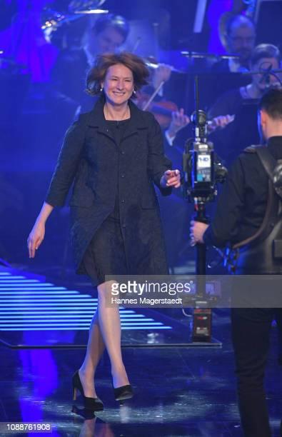 Corinna Harfouch attends the Bayerischer Filmpreis 2018 at Prinzregententheater on January 25 2019 in Munich Germany