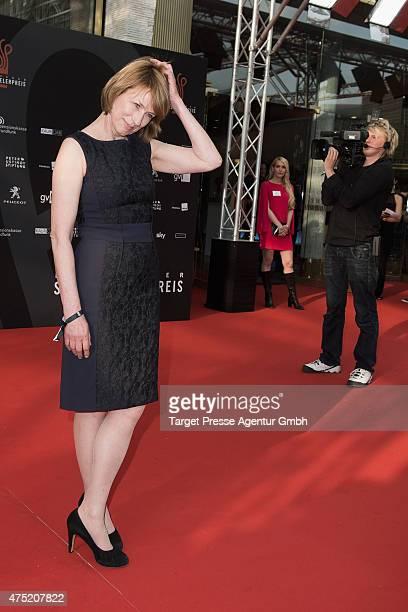 Corinna Harfouch attends the 'Deutscher Schauspielerpreis 2015' at Zoopalast on May 29 2015 in Berlin Germany