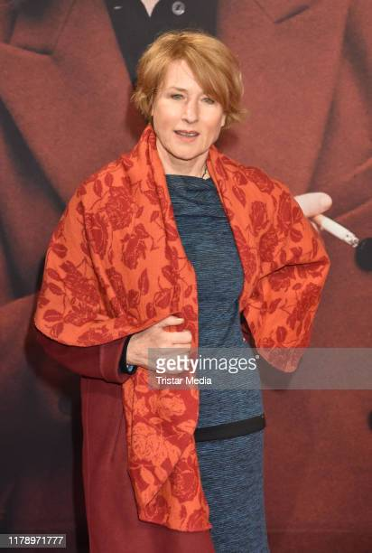 Corinna Harfouch attends the Lara premiere at Delphi movie theater on October 29 2019 in Berlin Germany