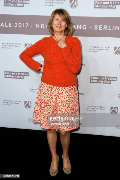 Corinna Harfouch attends the NRW Reception at the Landesvertretung during the 67th Berlinale International Film Festival on February 12 2017 in...