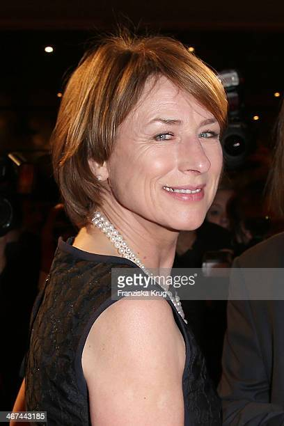 Corinna Harfouch attends the Opening Party 64th Berlinale International Film Festival at Berlinale Palast on February 06 2014 in Berlin Germany