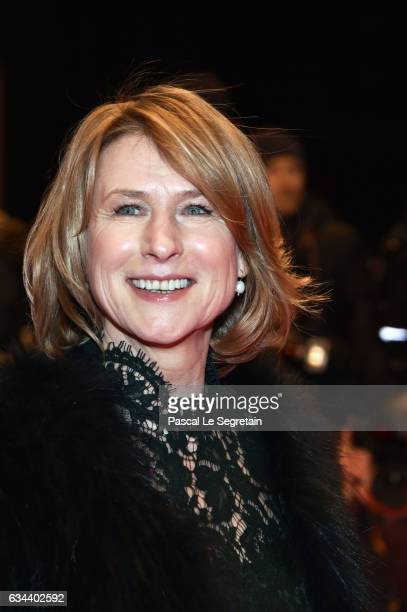 Corinna Harfouch wearing Set attends the 'Django' premiere during the 67th Berlinale International Film Festival Berlin at Berlinale Palace on...