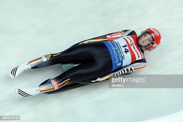 Corinna Martini GER Rodel Weltcup in Innsbruck Igls