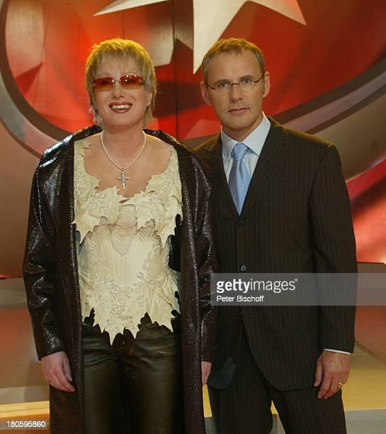 Corinna May und Reinhold Beckmann Guinness Die Show der Rekorde ZenithHalle / Muenchen Brille