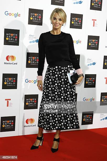 Corinna Sayn-Wittgenstein attends day 1 of the Women in the World summit at Cadogan Hall on October 8, 2015 in London, England.