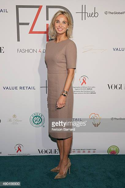 Corinna SaynWittgenstein attends the Fashion 4 Development's 5th annual Official First Ladies luncheon at The Pierre Hotel on September 28 2015 in...