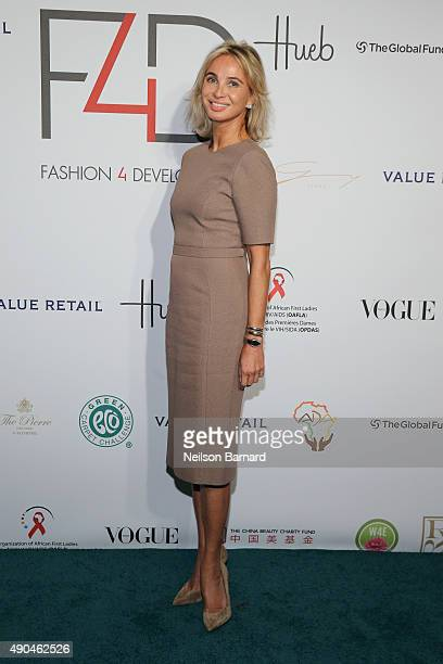 Corinna Sayn-Wittgenstein attends the Fashion 4 Development's 5th annual Official First Ladies luncheon at The Pierre Hotel on September 28, 2015 in...