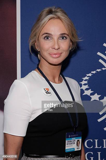 Corinna SaynWittgenstein Strategic Advisor at CGI attends the Opening Plenary Session The Future of Impact during the second day of the 2015 Clinton...