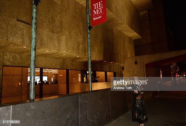 Corinna zu SaynWittgenstein is seen during the opening of The Met Breuer on March 1 2016 in New York City