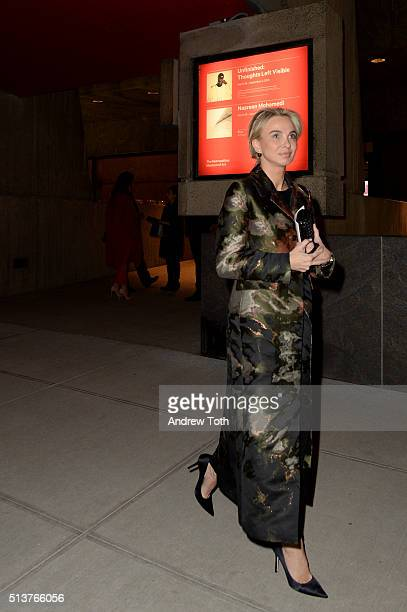 Corinna zu Sayn-Wittgenstein is seen during the opening of The Met Breuer on March 1, 2016 in New York City.