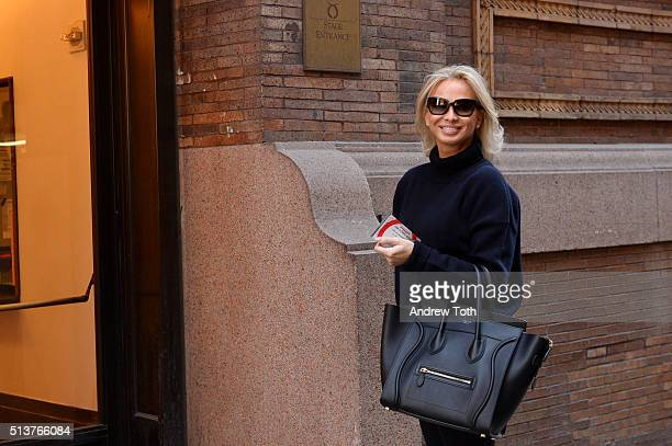 Corinna zu SaynWittgenstein is seen during the Vienna Philharmonic Orchestra Performance at Carnegie Hall on February 28 2016 in New York City