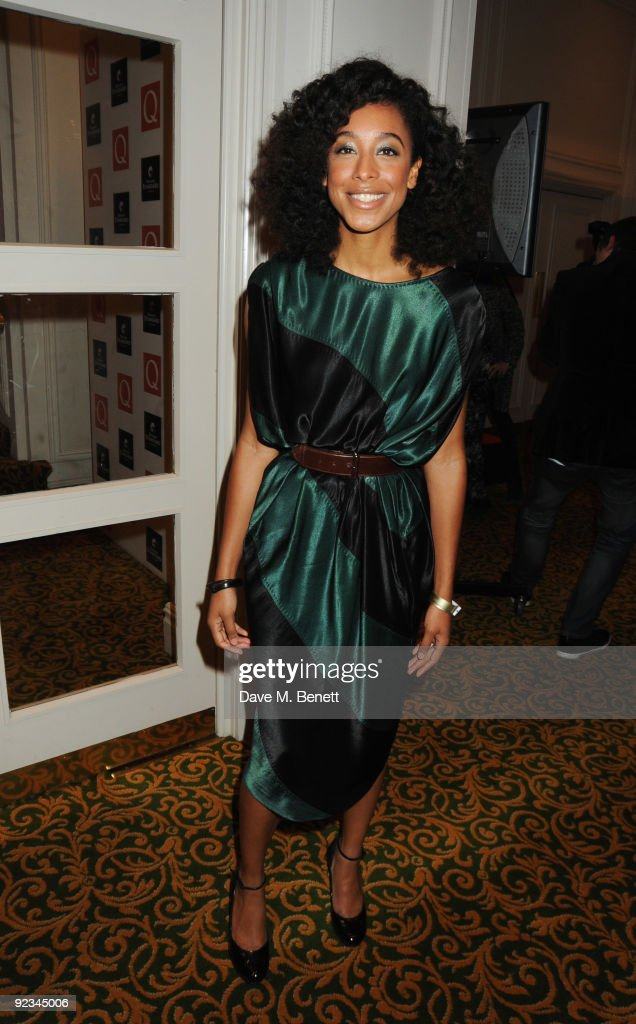 Corinne Bailey Rae arrives at The Q Awards 2009, at the Grosvenor House on October 26, 2009 in London, England.